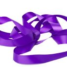 Cadbury Purple Satin Ribbon